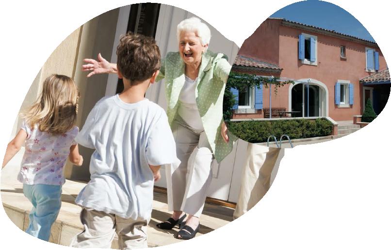 Domet'Isle aménage le domicile des seniors : transformation de baignoire en douche italienne, installation monte-escalier et lit électrique, Cuisine ergonomique