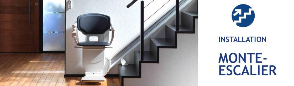 installation monte-escalier