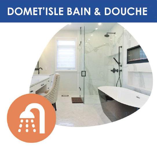 aménagement de la douche et de la baignoire pour personne agé et handicapé à domicile
